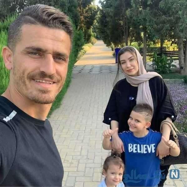 خانواده فوتبالیست ایرانی