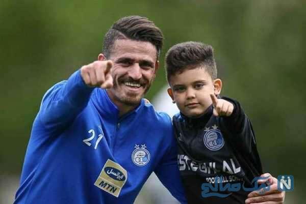 فوتبالیست معروف و پسرش