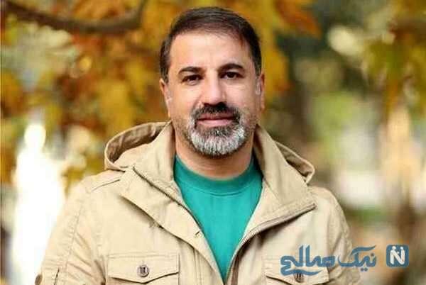 گریه های همسر و دختر مرحوم علی سلیمانی بعد از دیدن دیالوگ های آقای بازیگر