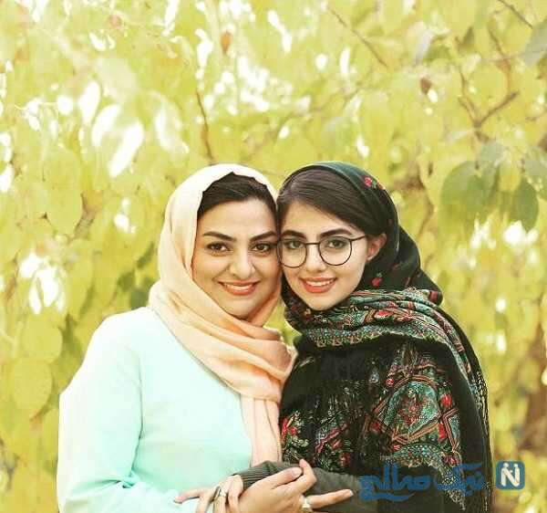 تصویری جالب از همسر و دختر علی سلیمانی