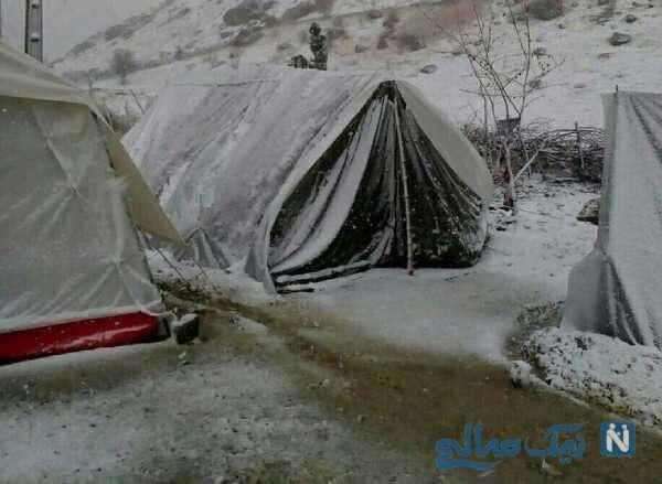 چادر نشینی بخاطر فقر