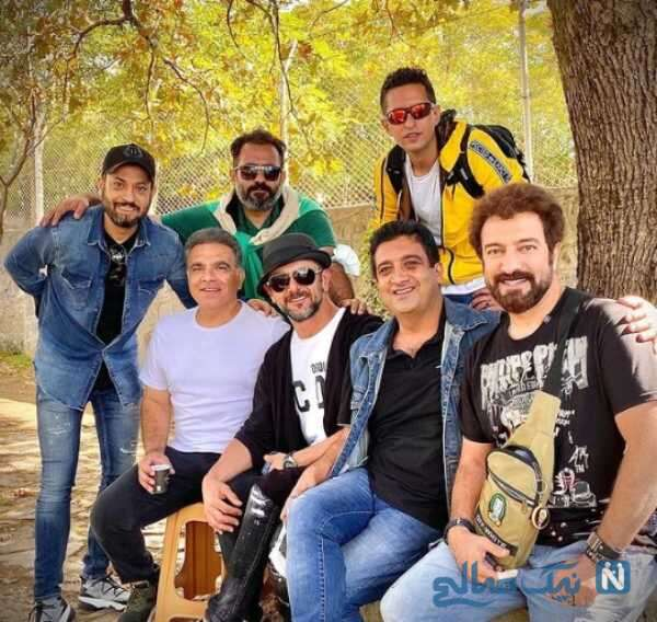 هنرمندان در پشت صحنه ساخت ایران 3