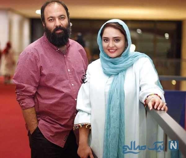 عکس از نرگس محمدی و شوهرش