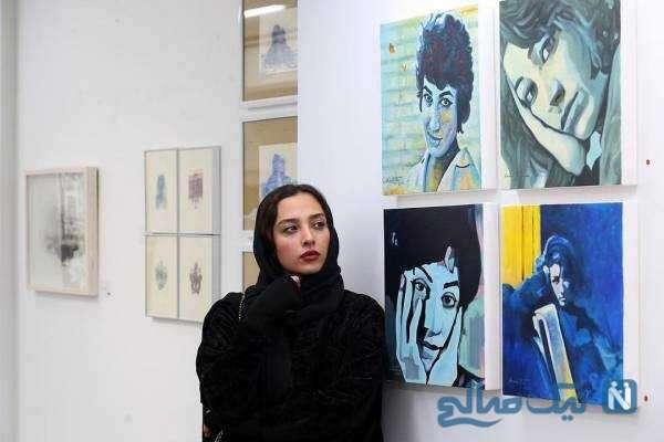 استایل آناهیتا درگاهی در گالری نقاشی