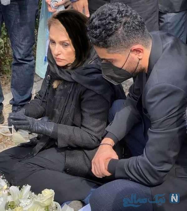 کتایون خوانساری و رایان در اولین سالگرد درگذشت استاد شجریان