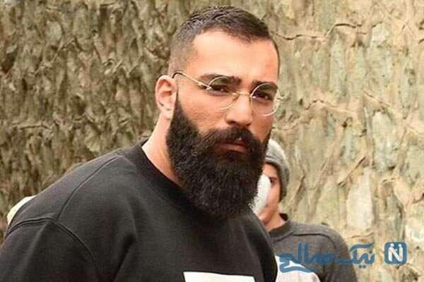 لحظه آزادی حمید صفت خواننده رپ از زندان و دیدار با مادرش