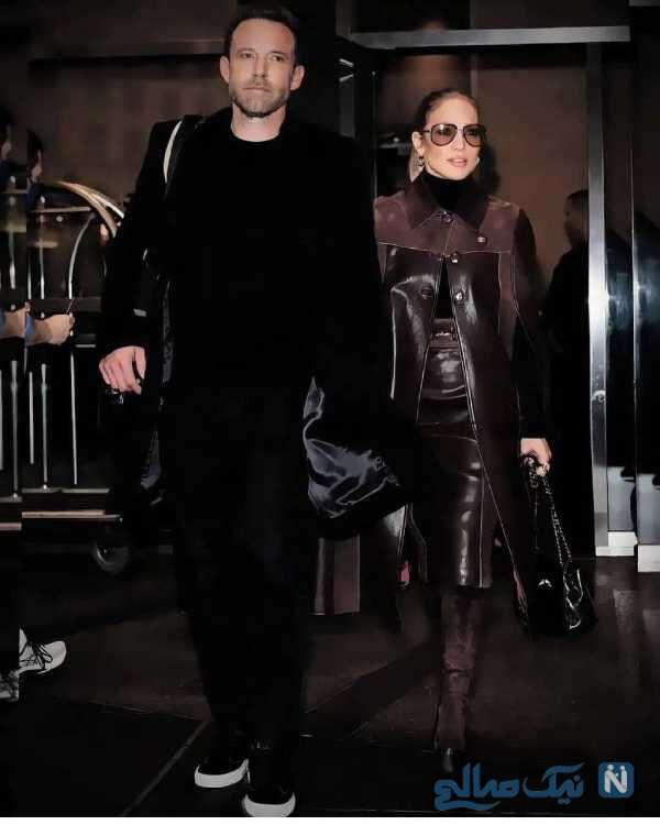 تیپ زیبای جنیفر لوپز و همسرش
