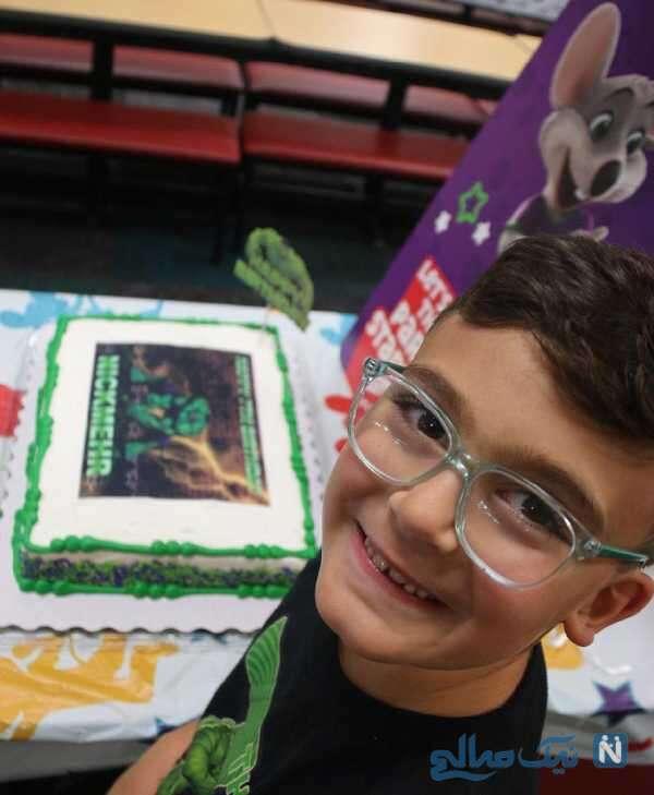 کیک تولد نیکمهر