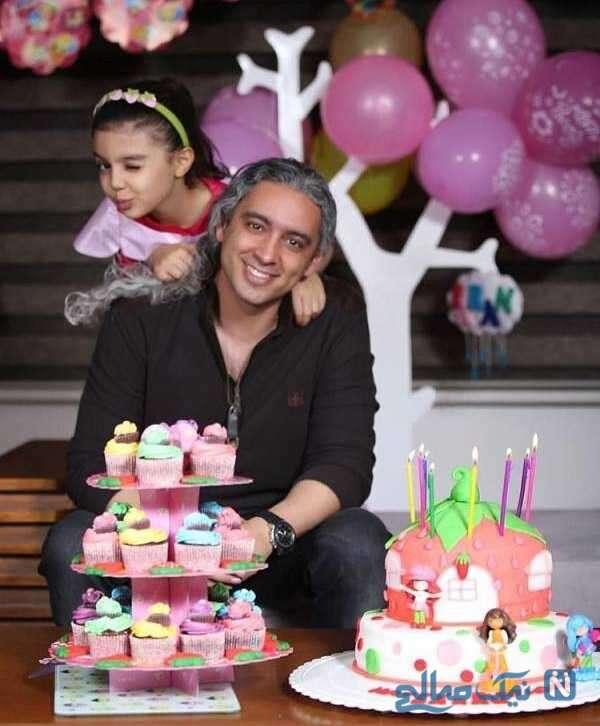 جشن تولد دختر مازیار فلاحی