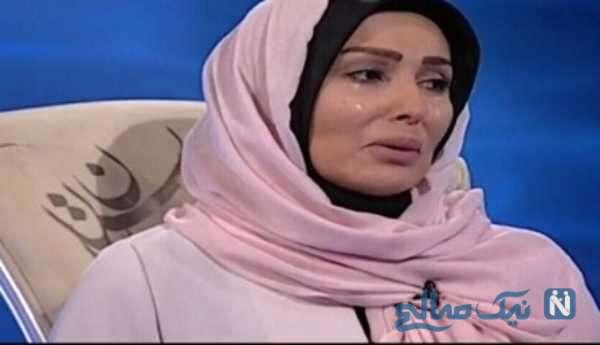 گریه پرستو صالحی بازیگر