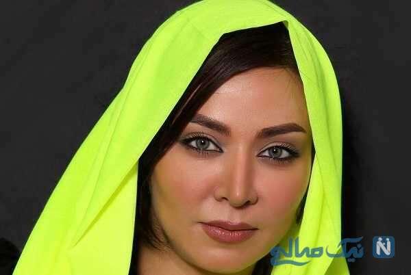 تبریک عاشقانه فقیهه سلطانی برای دختر زیبایش گندم در روز کودک