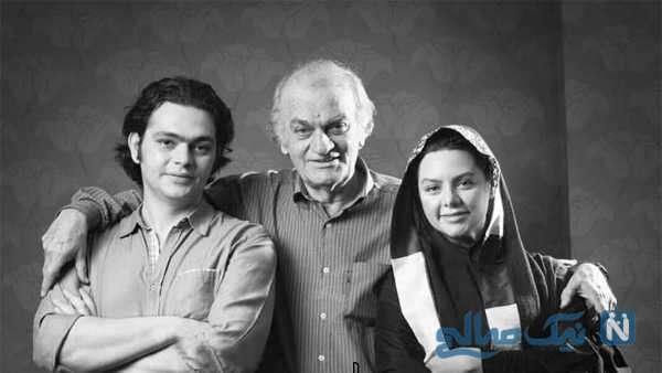 فتحعلی اویسی کنار دختر و پسرش