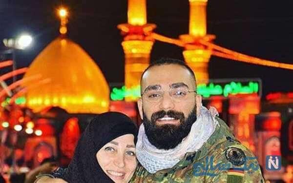 عکس جدید حمید صفت و مادرش
