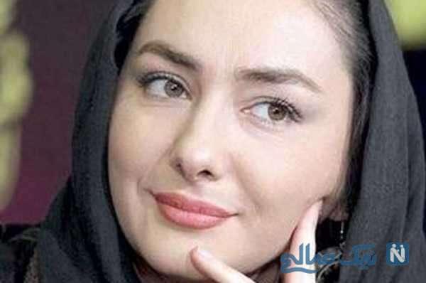 بازدید هانیه توسلی بازیگر سریال زخم کاری از نمایشگاه عکس