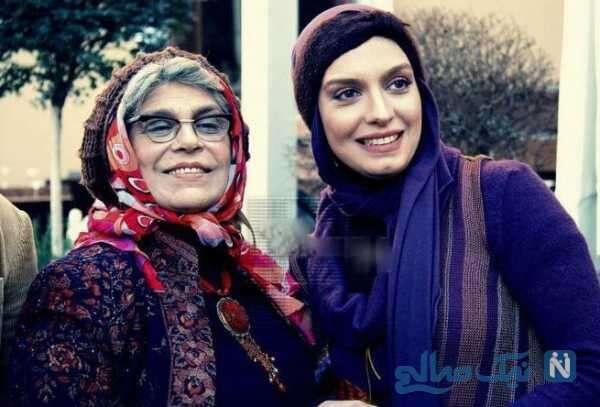 بازیگر ایرانی گوهر خیراندیش و الیکا عبدالرزاقی