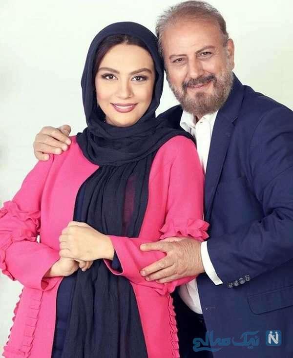 جلیل فرجاد و دخترش