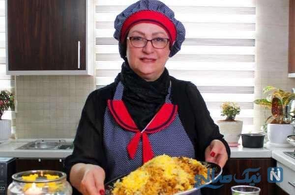 آشپزی مریم امیرجلالی بازیگر