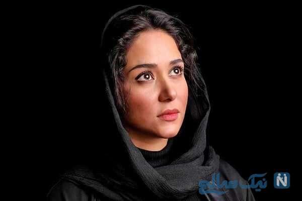 عکس کمتر دیده شده از پریناز ایزدیار بازیگر سریال جیران با سگ بامزه اش