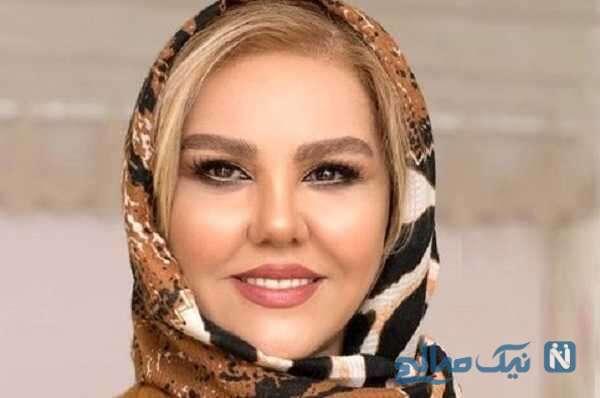 استایل پاییزی افسانه چهره آزاد بازیگر سریال احضار در خارج از کشور