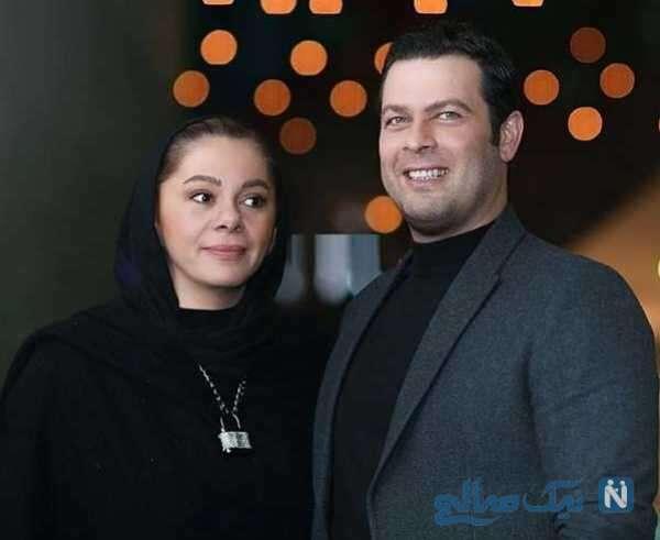 مستانه مهاجر و شوهرش