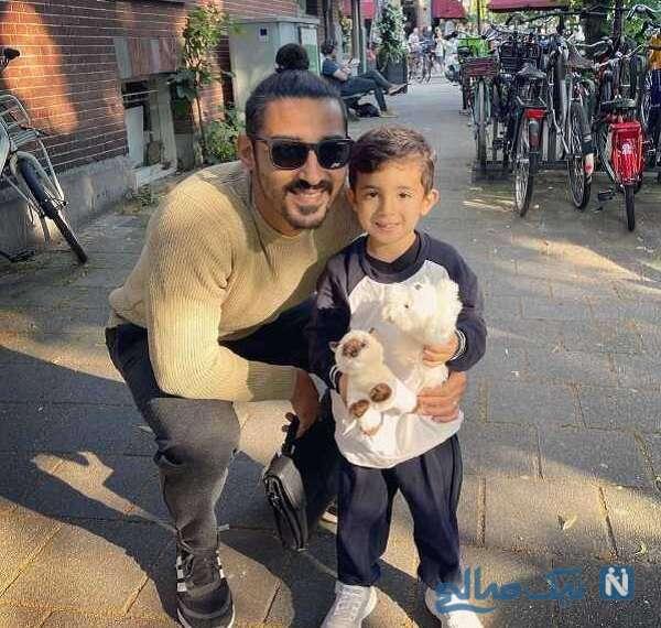 عکس پسر قوچان نژاد بازیکن فوتبال