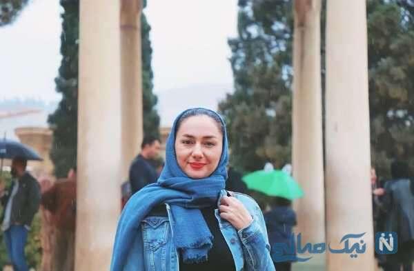 هانیه توسلی در شیراز