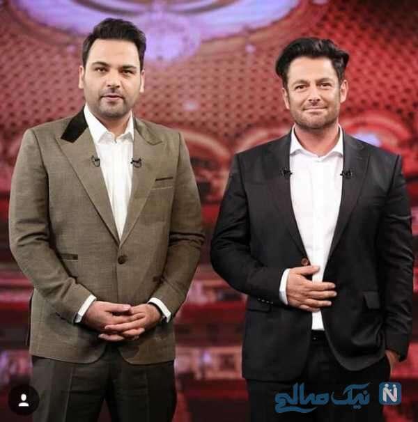 محمدرضا گلزار و احسان علیخانی