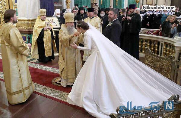 مراسم مذهبی ازدواج در کلیسا