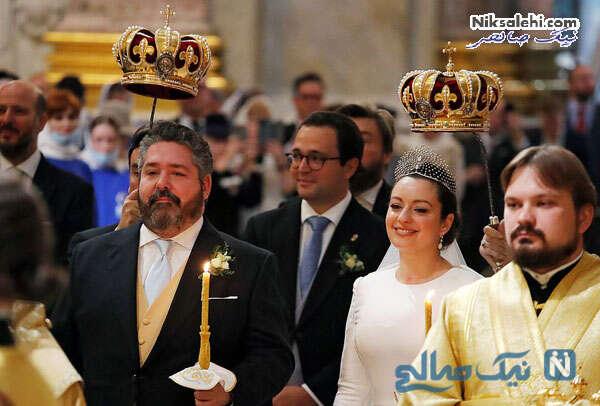 عروسی سلطنتی در سن پترزبورگ روسیه