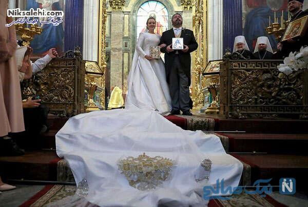 مراسم عروسی در کلیسای جامع سنت ایزاک
