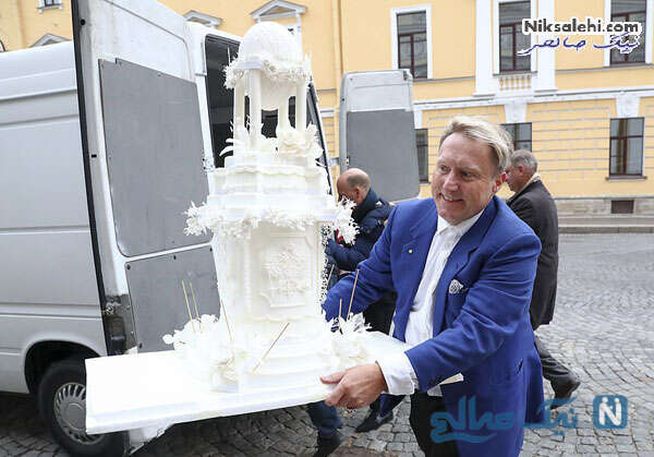 کیک عروسی سلطنتی