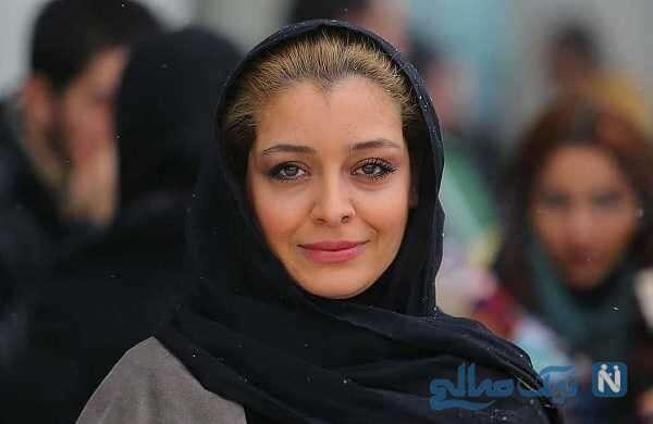 تصویری جالب از ساره بیات بازیگر معروف در رستوران لاکچری