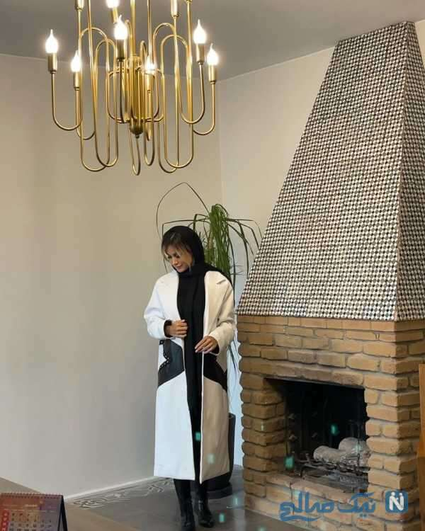 لباس های همسر شاهرخ استخری به مناسبت فصل پاییز