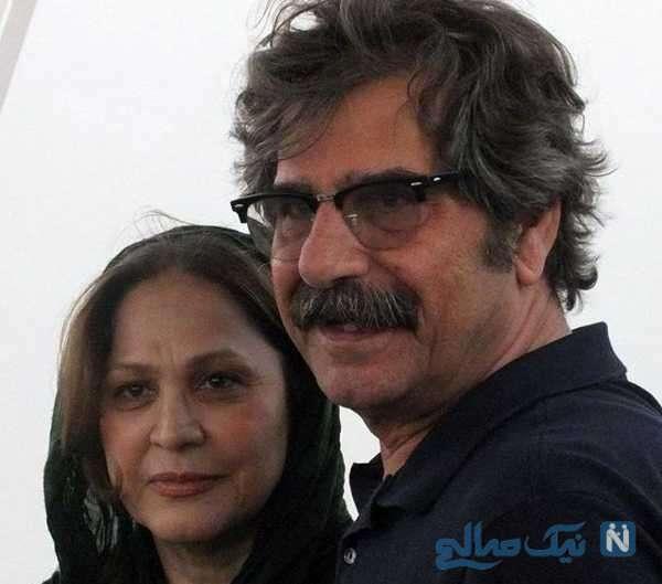 عزت الله مهرآوران و همسرش