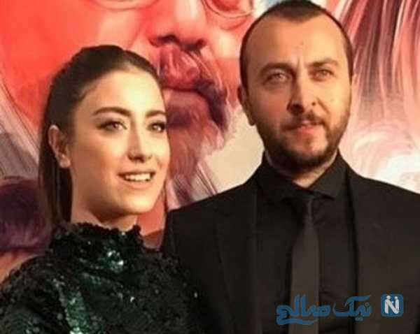 هازال کایا بازیگر ترکیه و همسرش
