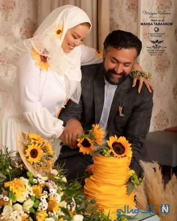 مراسم سالگرد ازدواج بهاره رهنما