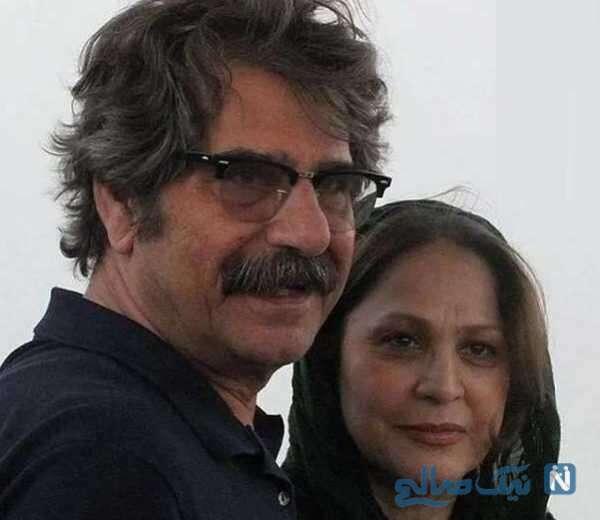 تصویری از همسر عزت الله مهرآوران