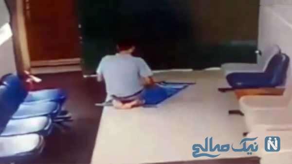 مرگ جوان مصری هنگام نماز خواندن