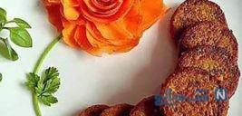 تصاویر زیبای تزیین کتلت برای مجالس و مهمانی های رسمی