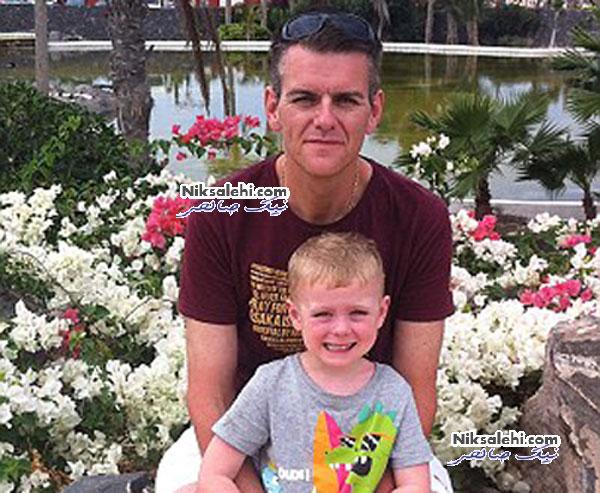 مردی که به عشق پسرانش 114 کیلووزن کم کرد