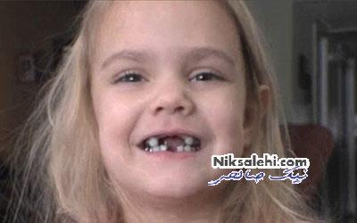 دختری که شبیه قهرمان ترسناک فیلم شد