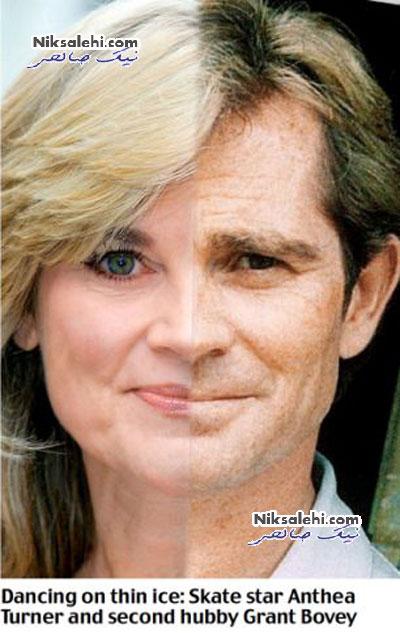 زوج های مشهوری که آینه یکدیگرند عکس