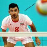 بازیکن سرشناس ایرانی کوتاه ترین والیبالیست جهان!