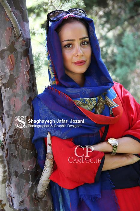 عکس های جدید الناز حبیبی بازیگ سریال دودکش و همسرش
