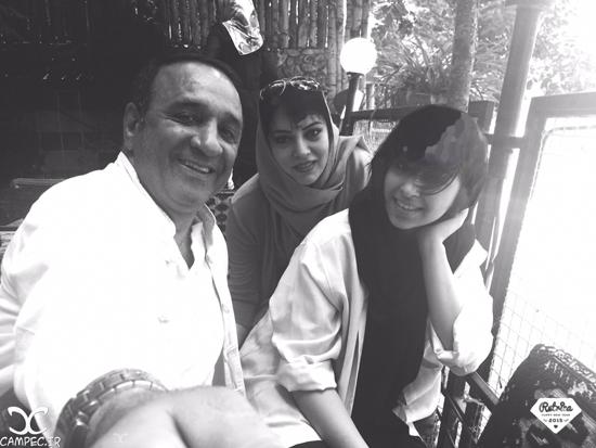 عکس های جدید حمیرا ریاضی و همسرش علی اسیوند به همراه دخترشان + بیوگرافی