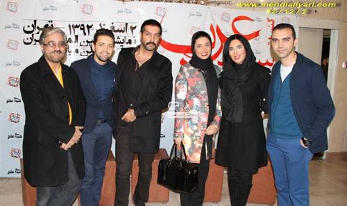 کنسرت سعید عرب با حضور هنرمندان و ورزشکاران / لیلا بلوکات، تینا آخوندتبار و … + تصاویر