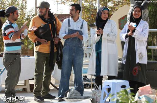 عکس های جدید سریال معراجی ها + خلاصه داستان و بازیگران