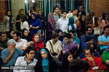 عکس: فرزاد حسنی و آزاده نامداری درافتتاح نمایش رضا حداد