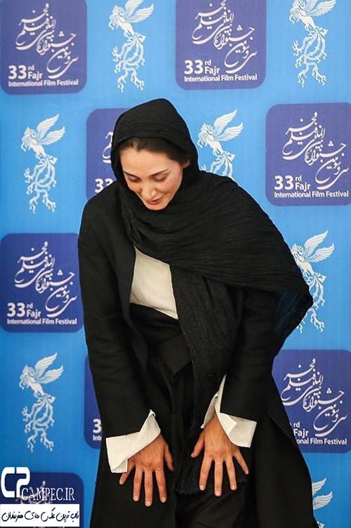 عکس های زیبای هدیه تهرانی در مراسم تقدیر از داوران جشنواره فیلم فجر