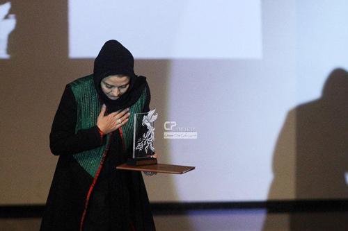 مریلا زارعی این بار در اختتامیه جشنواره فیلم فجر در مشهد +تصاویر